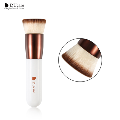 DUcare Makeup Brush Foundation brush professional liquid flat brushes for face makeup set tools beauty essential Make Up Brushes Pakistan