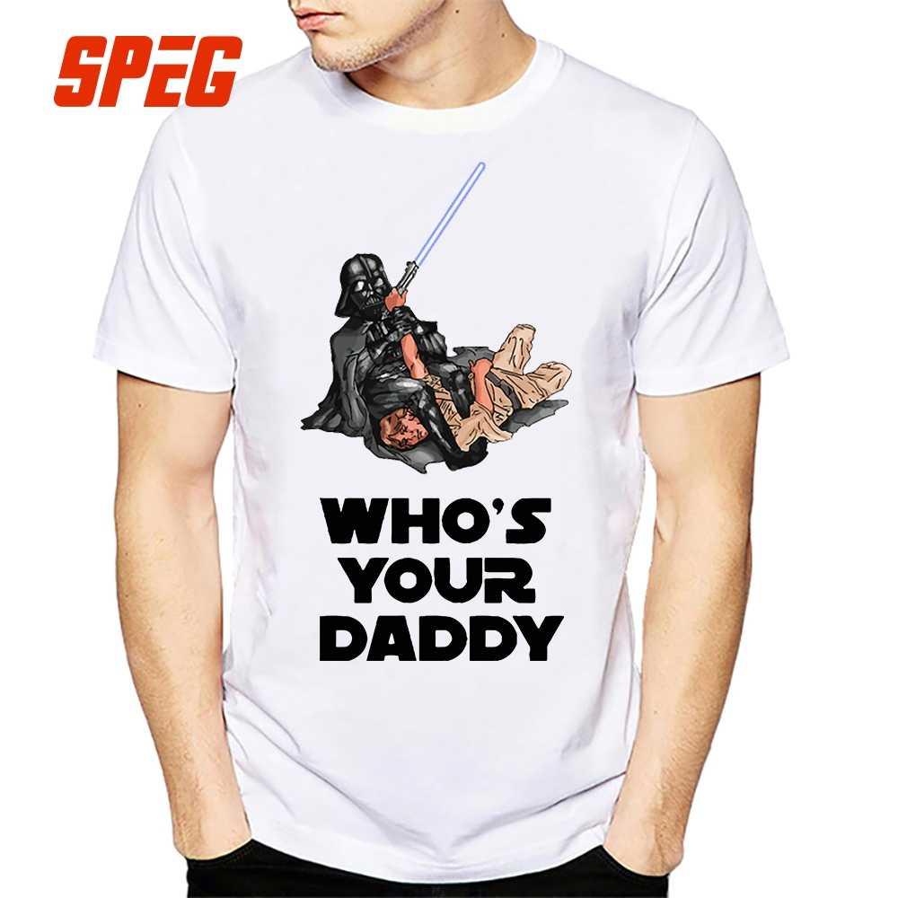 4936c83b Funny T Shirt Men Vader Bjj Star Wars Brazilian Jiu Jitsu Top Fun T-Shirt