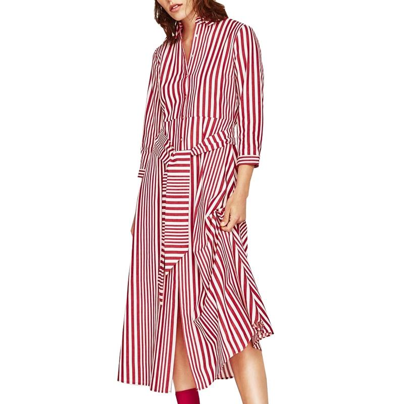 Vestido de verano 2017 de la vendimia de oficina vestidos de fiesta ...