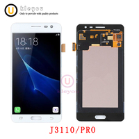 Touch Screen Digitizer For Samsung Galaxy J3 Pro J3P J3110 LCD Display Digitizer Panel Assembly5 0