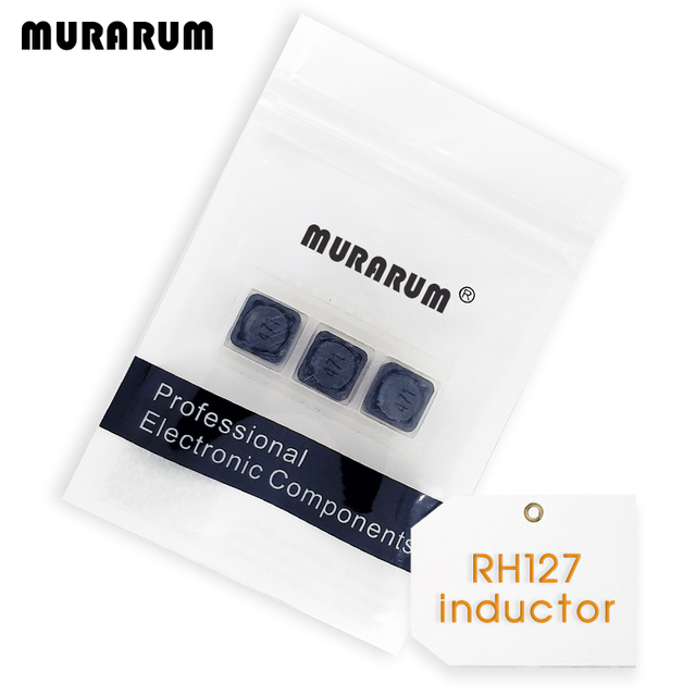 MURARUM 20pcs SMD Inductor 100uh CDRH127R 47uh power inductor 2 2uH ~ 470uH  Shielded Inductors