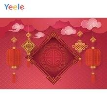 Yeele New Year Chinese Festival Lantern Customized Photography Backdrops Personalized Photographic Backgrounds For Photo Studio
