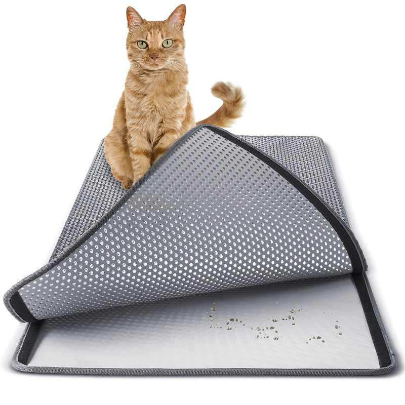 Cat Litter Trapper Litter Mat Clean Cat Mat with Water Proof Layer