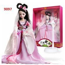 29 см Высокий Kurhn Кукла для девочек игрушки Китайский Миф Этническая кукла семь сказочных игрушек для девочек Детские игрушки в подарок на день рождения#9097
