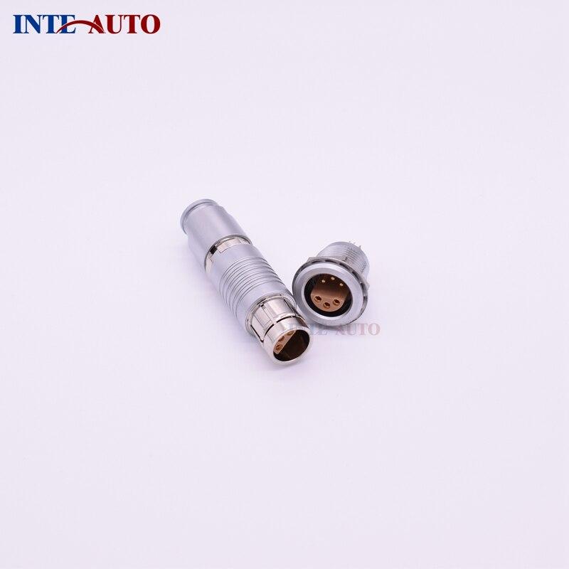 цена на Equivalent ODUs video circular metal push pull connector,6 pins plug receptacle,stepped insulator,FFA.2S.306 ERA.2S.306