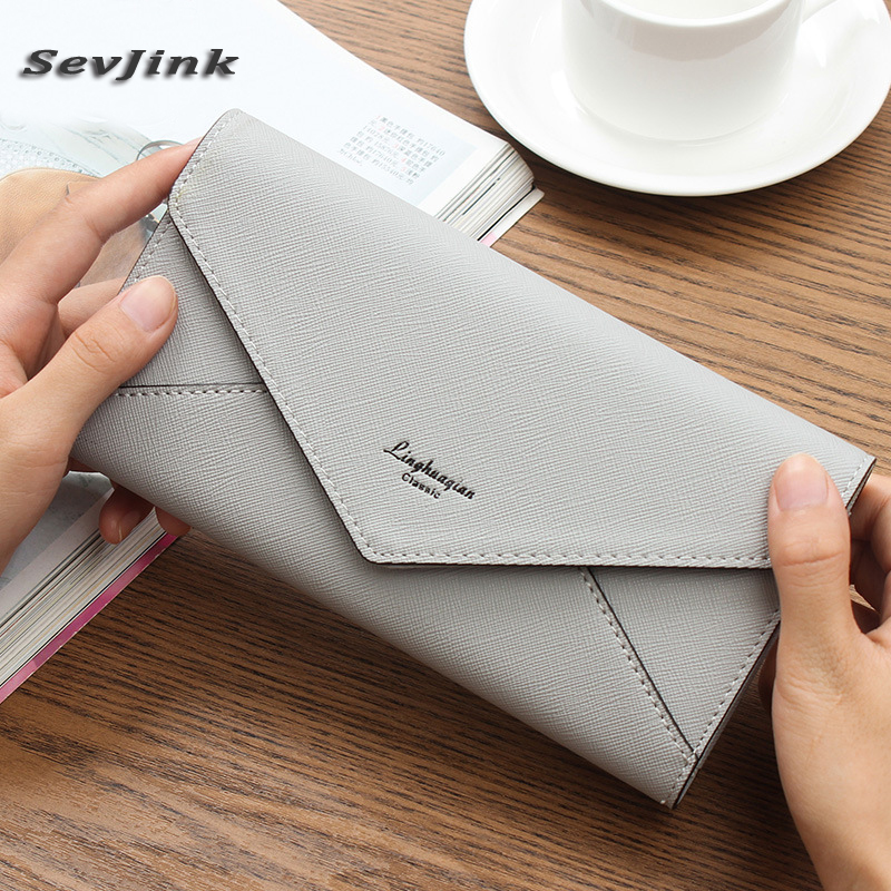цена Famous Brand Designer Luxury Long Walet Women Wallets Female Bag Ladies Money Coin Women Purse ladies wallet purse clutch