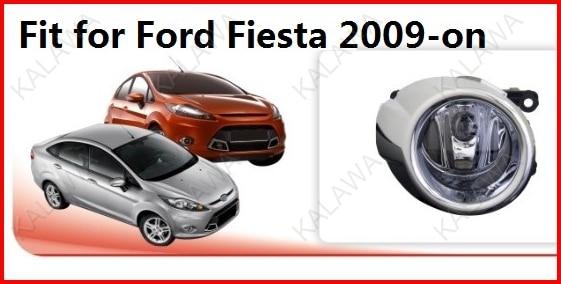 2x Посвящается Противотуманные Фары для Ford Fiesta 2009-на с Wireset 12 В 55 Вт FD355 Freeshipping ТТТ
