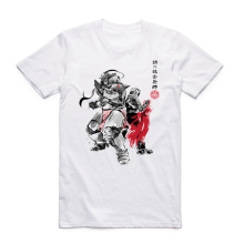 Fullmetal Alchemist Anime Sumi T-shirt Fashion Short sleeve O-Neck Tops Tees Summer Casual T shirt