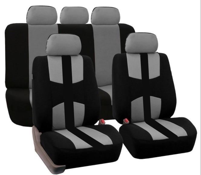 Четыре сезона 9 шт./компл. Автокресло охватывает полный набор подушки сиденья автомобиля универсальный чехлы протектор для VW BMW AUDI
