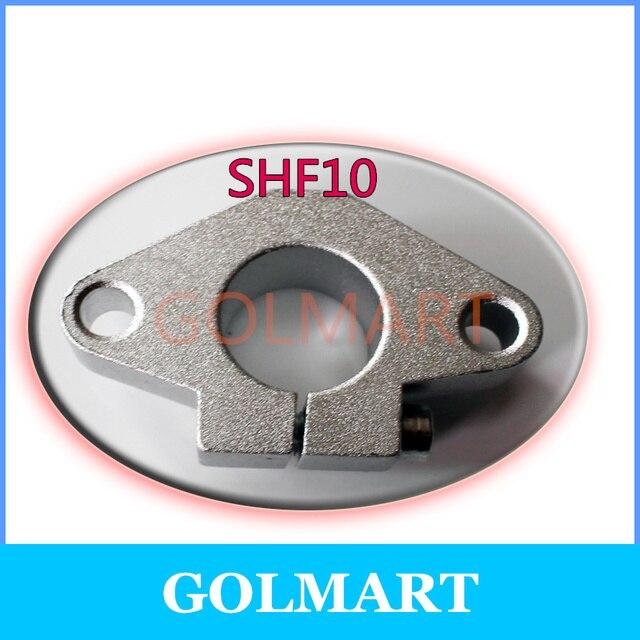 2pcs 10mm SHF10 Linear Rod Rail XYZ Table CNC Parts, Shaft End rod Supports Horizontal Wellenhalter FOR 10MM SHAFT