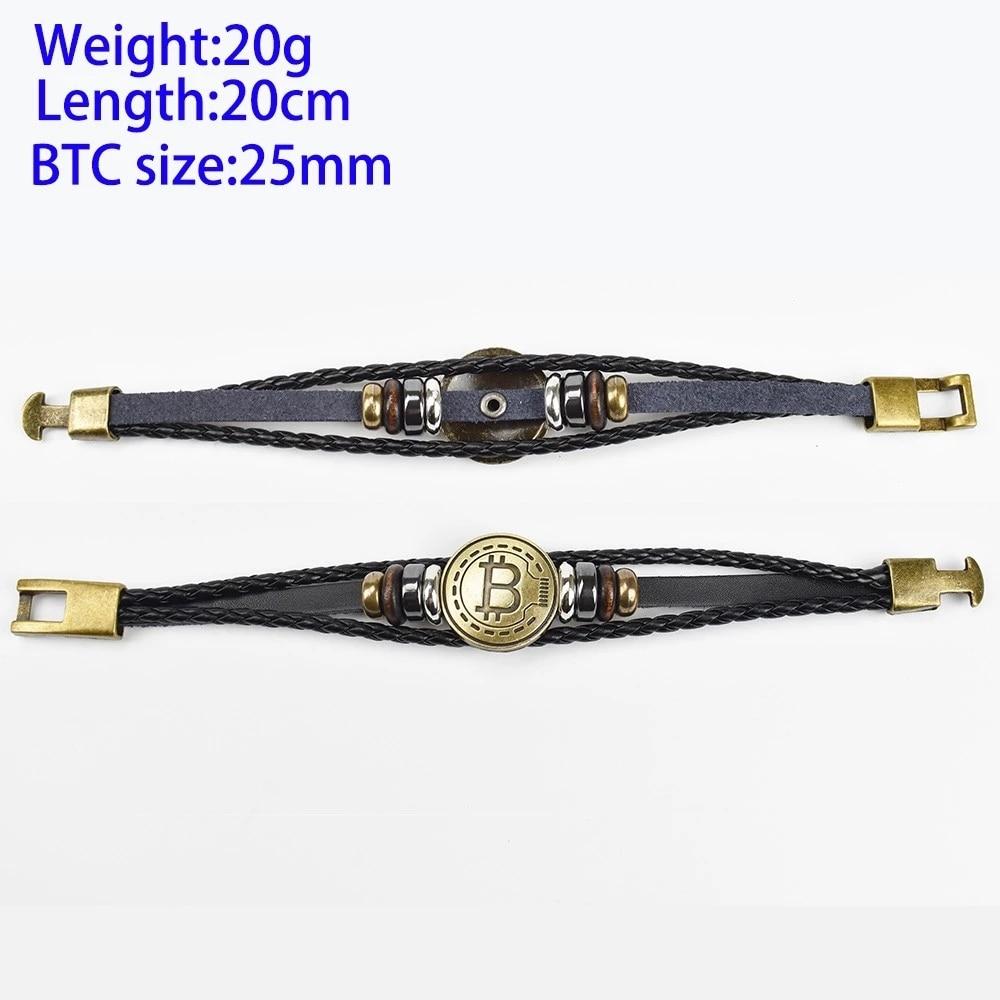 Bitcoin Antique Bracelet 3