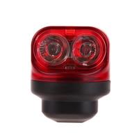 1 Pcs Red Bike Cycling Lights Friction Generator Dynamo Tail Lights Set Safety Night Riding No