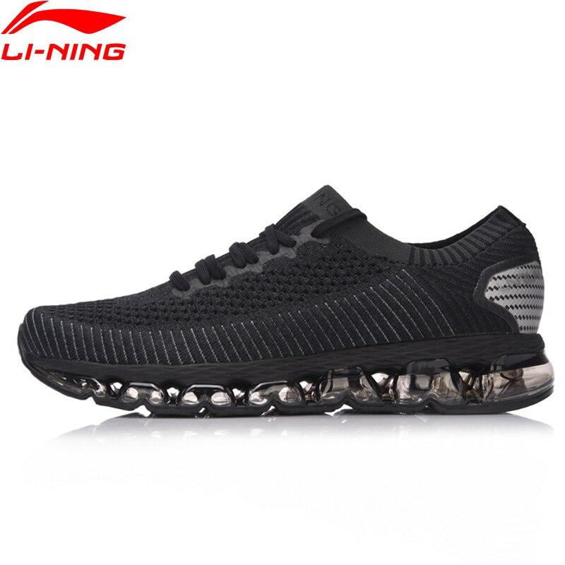 Li-Ning Men Shoes LN ARC 2018 Cushion Running Shoes Wearable Breathable Sneakers Sock-Like Fitness Sports Shoes ARHN035 original li ning men professional basketball shoes