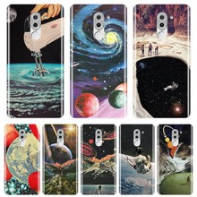 TPU For Huawei Honor 6 5A 4X 5X 6X Case Silicone Soft Art Space Star Moon Back Cover For Huawei Honor 4C 5C 6A 6C Pro Phone Case(China)