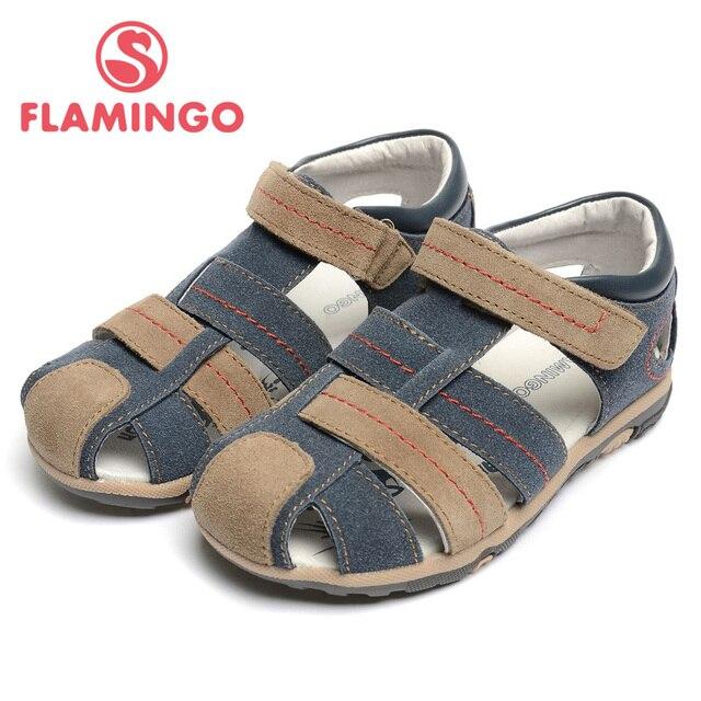 ФЛАМИНГО 2016 новое прибытие летние дети обувь высокого качества способа 100% натуральная кожа детские сандалии для мальчика XS4841
