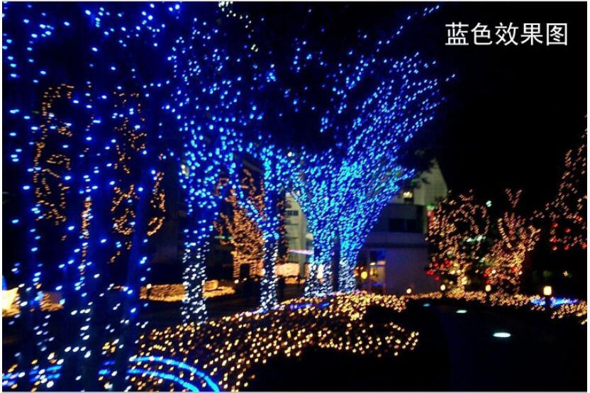 անվճար առաքում լարային լույս 30M 300 LEDs - Տոնական պարագաներ - Լուսանկար 2