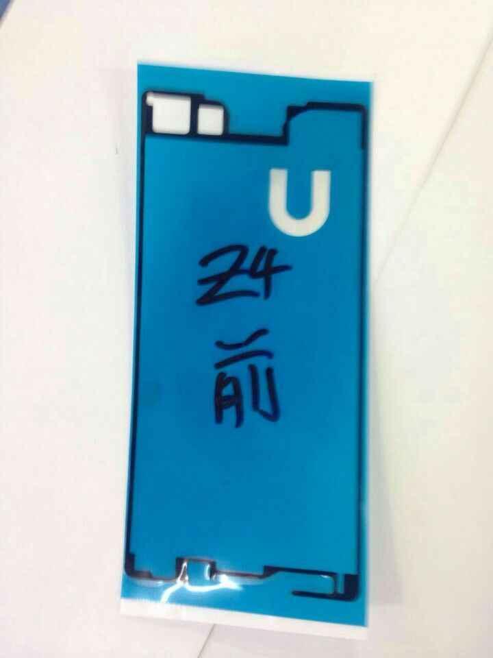1 قطعة عالية الجودة جديد LCD إطار أمامي إطار غطاء الحافة لاصق الغراء لزجة ملصقا لسوني اريكسون Z4 z3 + z3 زائد