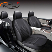 AutoDecorun Custom car seat for mercedes benz cla 200 cla220 cla180 seat cover sets accessories PU leather seats cushion support