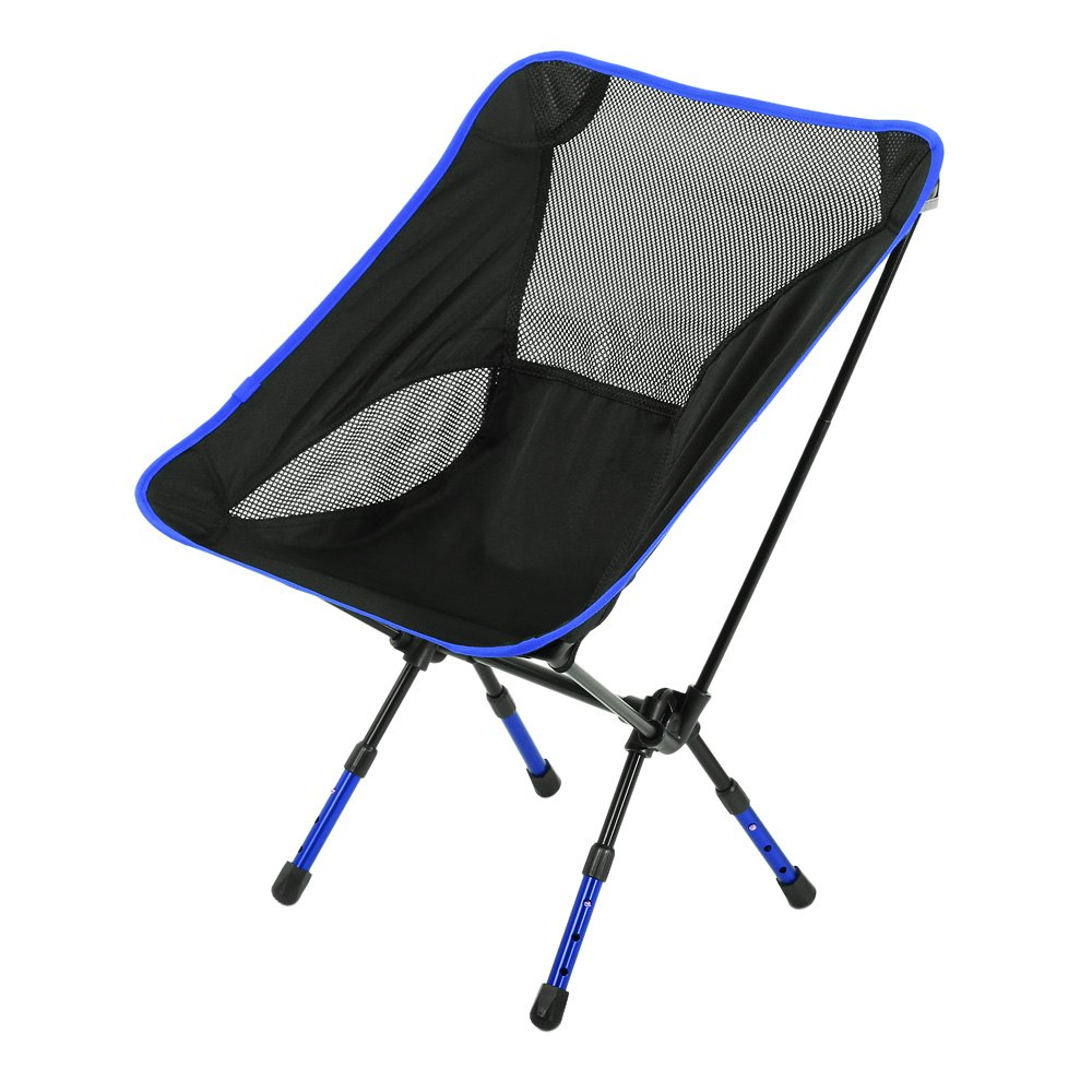 Different Colors Beach Chair Fishing Chair Moon Chair Heightened Chair Foldable Stool Outdoor Equipment For Outoor Activities