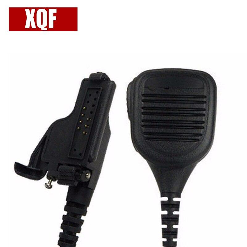 XQF 10PCS  Speaker Microphone For Motorola HT1000 XTS1500 XTS2500 XTS3000 XTS3500 MT2000 Radio