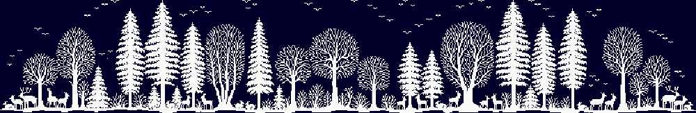 Kit de point de croix en forêt | Plante couleur unique 18ct 14ct 11ct, tissu noir, fil de coton brodé, manuels