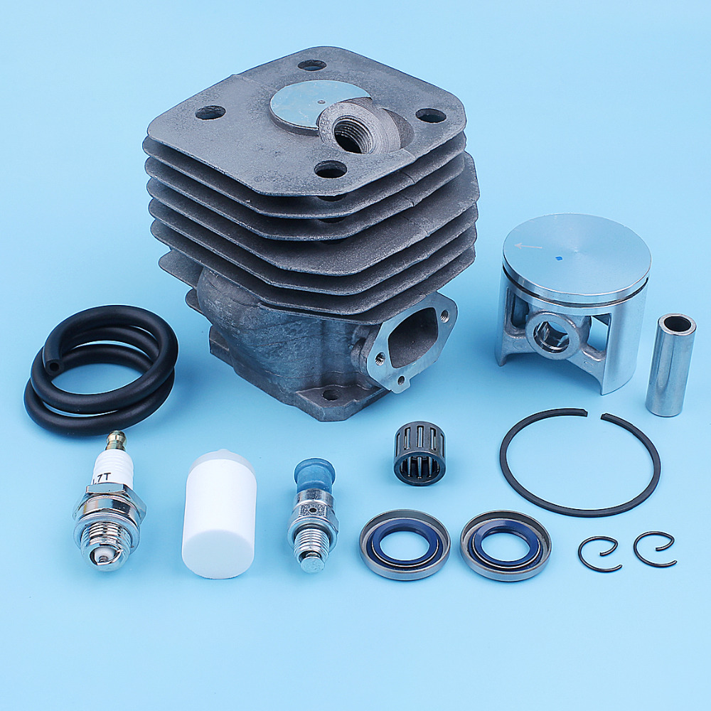 48mm Cylinder Piston Bearing Kit For Husqvarna 261 262 262XP Chainsaw Oil Seal Fuel Line Hose Decompression Valve 503 54 11 72 in Chainsaws from Tools