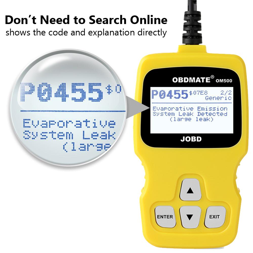 US $31 99 |OBD OBD2 Automotive Scanner Autophix OM500 OBD2 JOBD for Toyota  Honda Japanese Car Erase Fault Code Reader Diagnostic Scan Tool-in Code