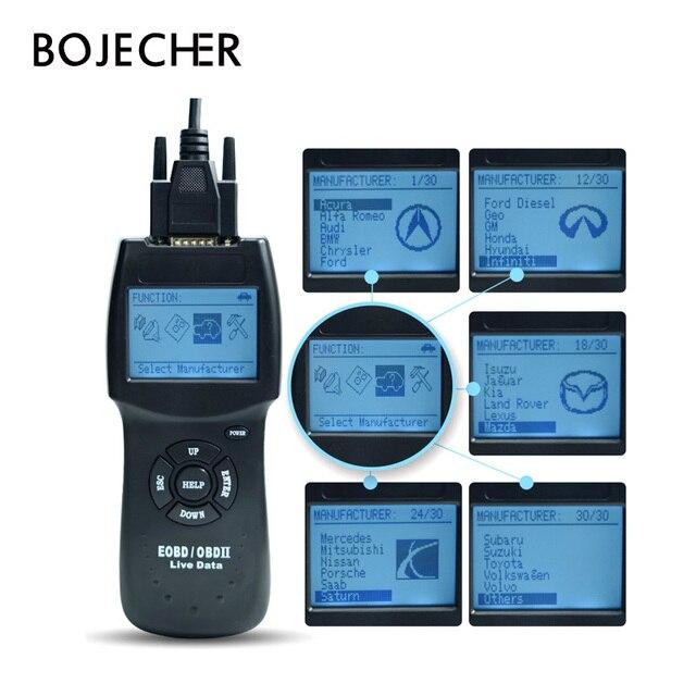 New Price 2018 Version D900 OBD2 Scanner D900 Code Reader Diagnostic Tool CANBUS D 900 EOBD OBD2 Scanner For Multi-Cars