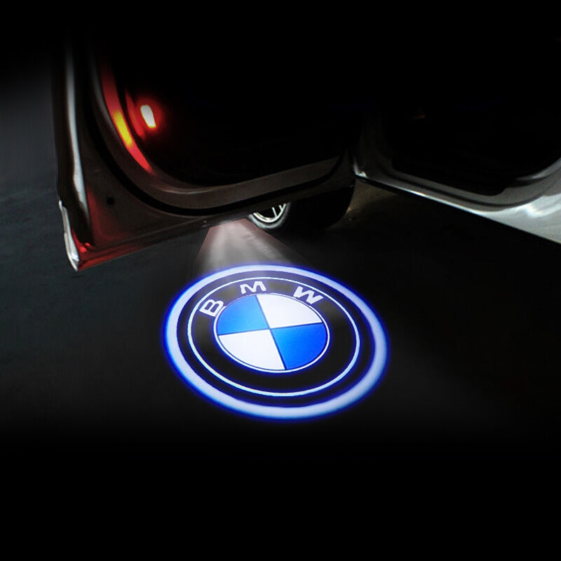 Led Deur Waarschuwingslampje Met Logo Projector Voor Bmw M E60 E63