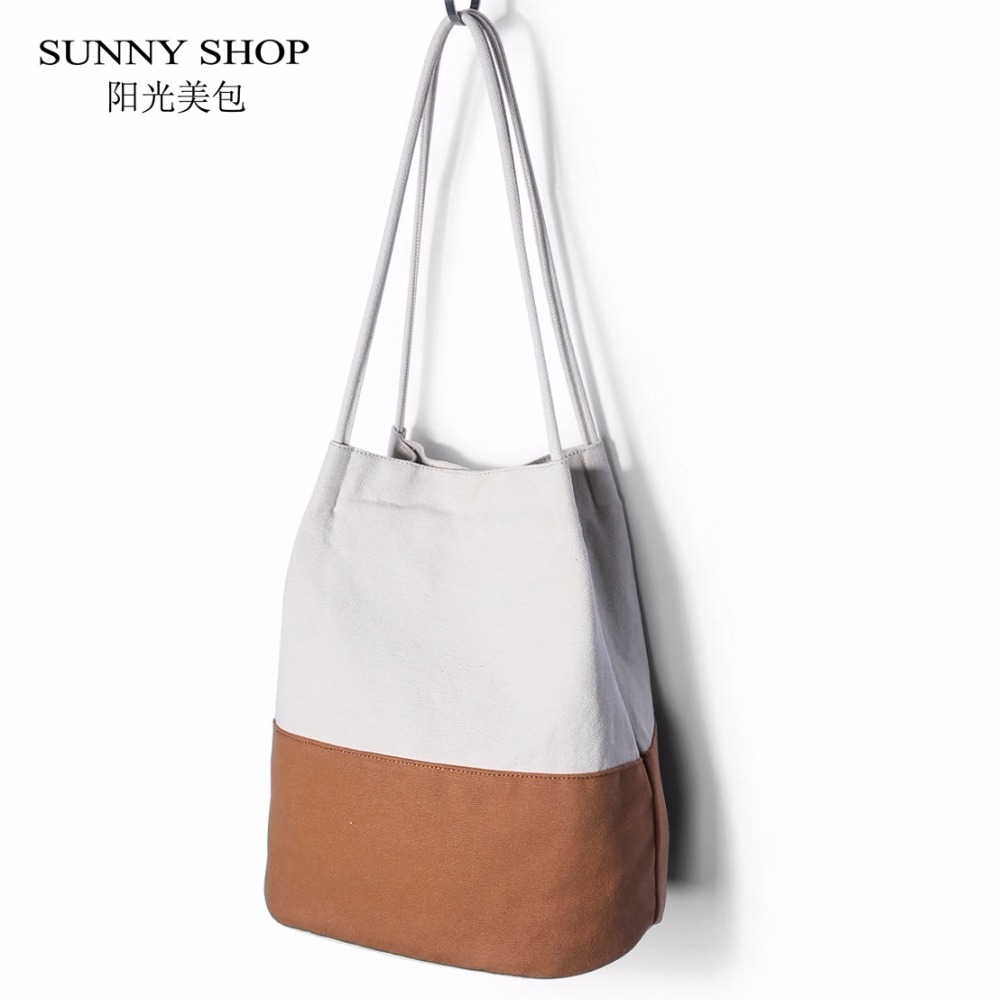 SUNNY SHOP Fresh Girls Multifunctional Canvas Bag Ajustable Drawstring Shoulder Bags Brown Blue Color England Style School Bags kitcox70427sfc023803 value kit naturehouse fresh nap moist towelettes sfc023803 and glad forceflex tall kitchen drawstring bags cox70427