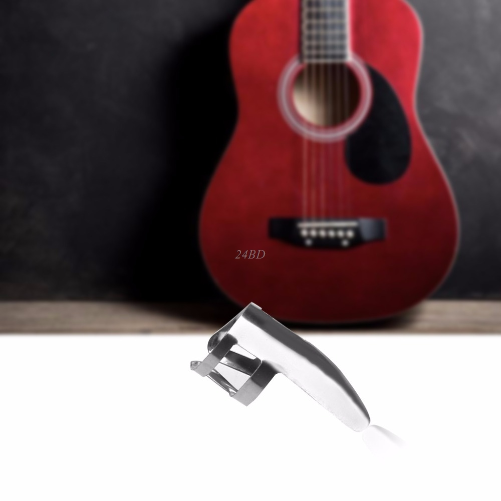Metal Finger Pick Plectrums Thumb Picks For Guitar Stainless Steel 6PCS/SET JUL04_15