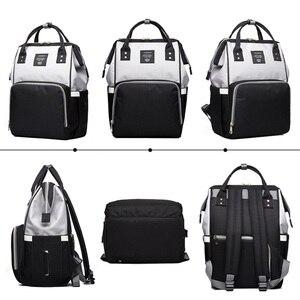 Image 4 - กระเป๋าเป้สะพายหลังหญิงกระเป๋าผ้าอ้อมผ้าอ้อมเด็ก Care Travel กระเป๋าเป้สะพายหลัง Designer กันน้ำกลางแจ้งสตรีมีครรภ์