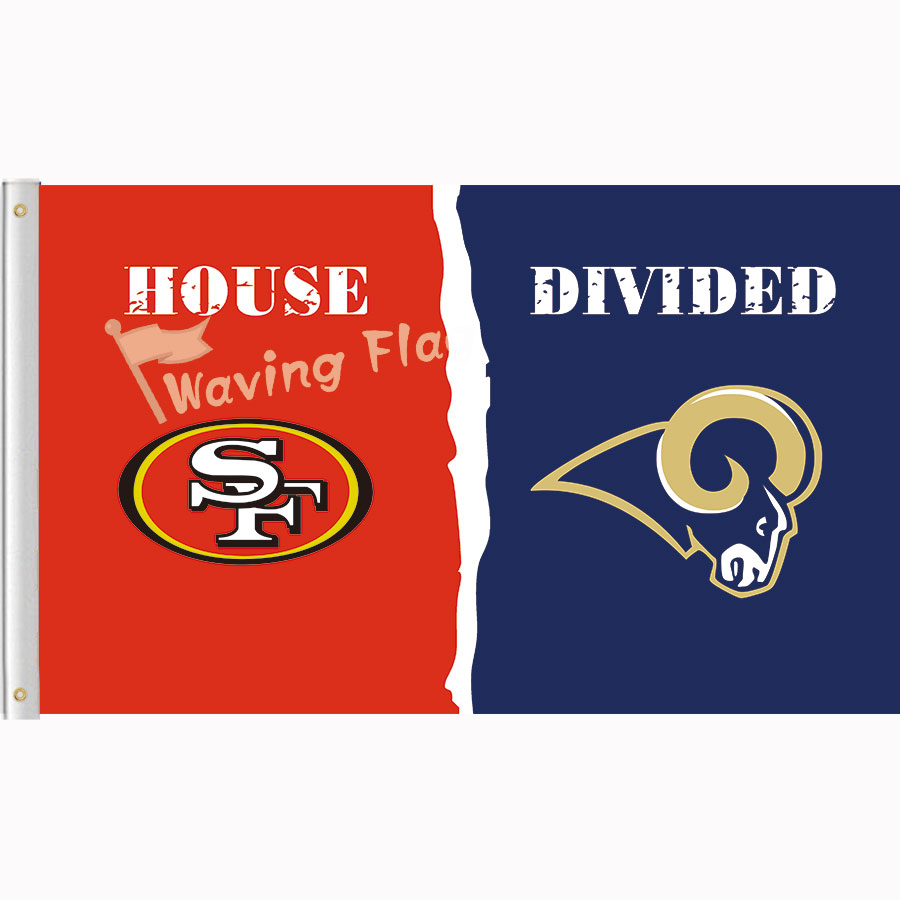 san francisco 49er vs st louis rams house divided rivalry