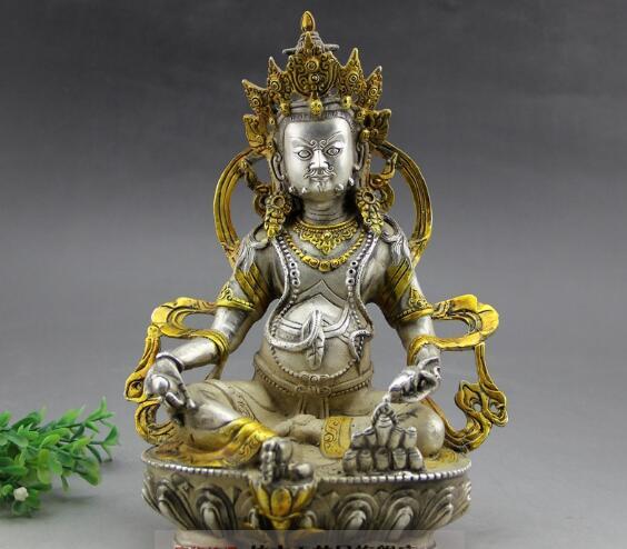 The Golden Buddha Tantric Buddha copper gilt bronze crafts copper ornamentsThe Golden Buddha Tantric Buddha copper gilt bronze crafts copper ornaments