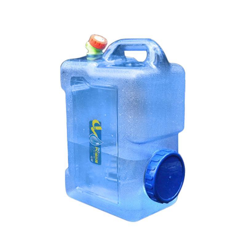 portátil tote balde portador de água com torneira água barril pe