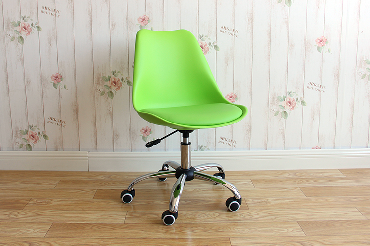 Computer chair. Lifting and rotating pulley chair. Writing chair..