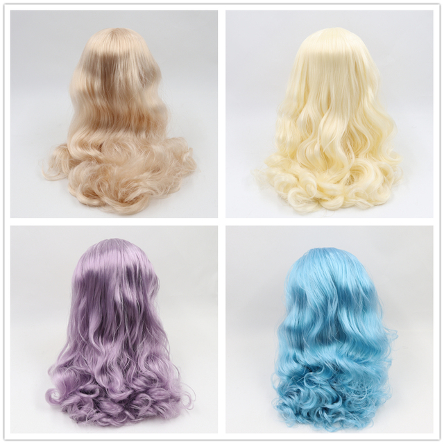 Neo Blythe Doll Scalp & Dome Hair Wigs