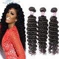 Christmas Deals 8A Brazilian Deep Wave Virgin Hair 3 Bundles Deep Wave Brazilian Hair Top Quality Brazilian Human Hair Bundles