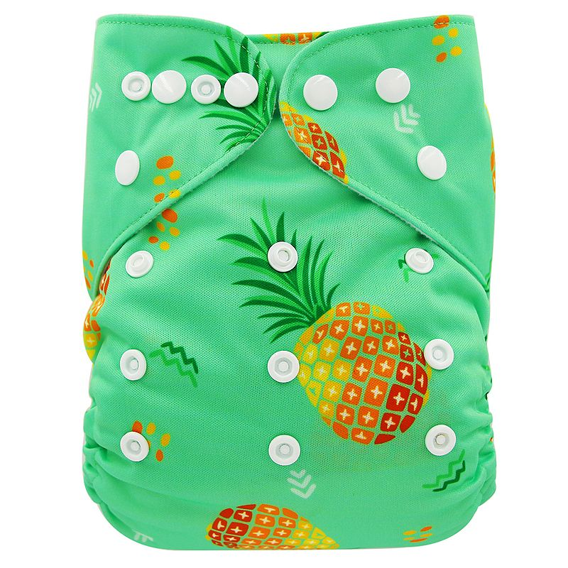 Ohbabyka, детские тканевые подгузники, многоразовые подгузники, унисекс, детские штаны для ухода за ребенком, водонепроницаемые тканевые подгузники с карманами, детские подарки для душа - Цвет: OB168