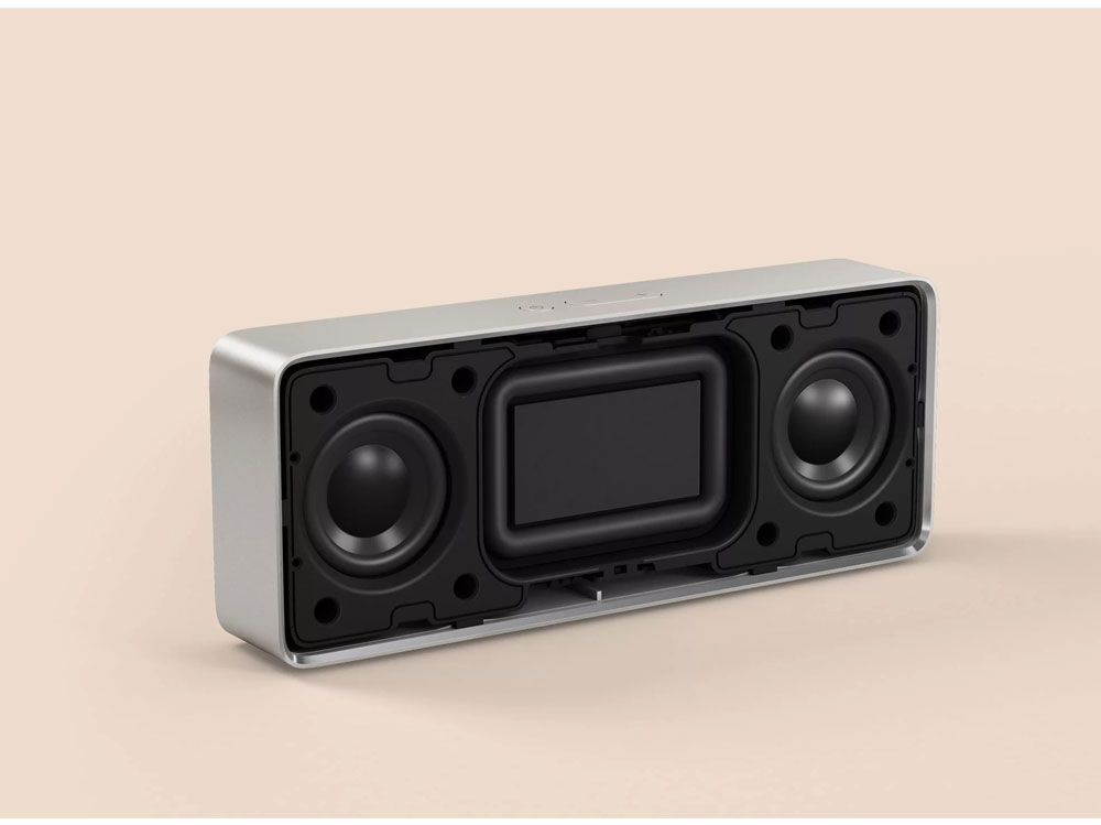 Original Xiaomi Mi Bluetooth Speaker 2 Square Box Stereo Portable Bluetooth 4.2 High Definition Sound Quality 10h Play Music AUX Port (10)
