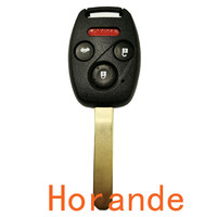 Replacement Car Keys Suzuki Transponder Key Shell Chip Key Blank With Left Blade Wholesale