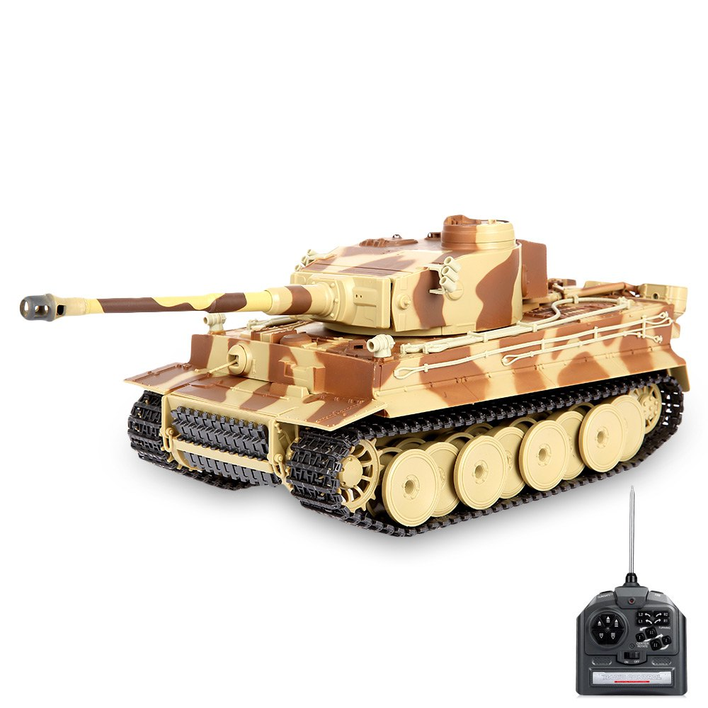 Mini RC Battle Tank Remote Control Simulated Panzer Model ...