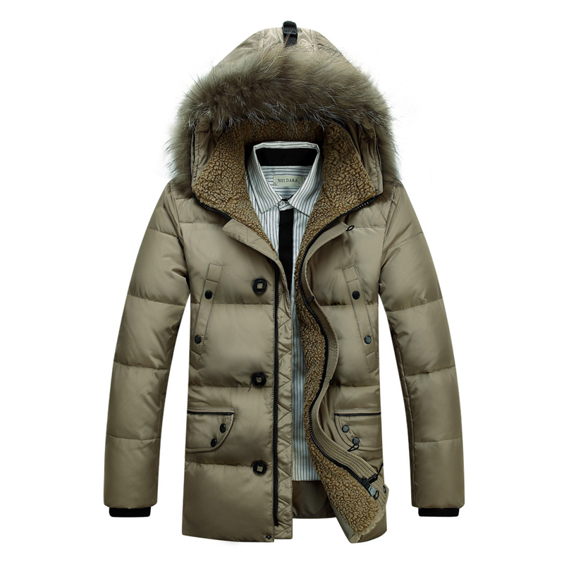 Popular Mens Puffer Jacket with Fur Hood-Buy Cheap Mens ...