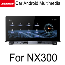 ZaiXi Car Android original style For Lexus NX 300 200t 2018-2019 GPS Navigation radio stereo multimedia player touch screen