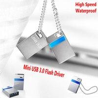 Hoge snelheid Originele Nieuwe Mini USB 3.0 Flash Drive 32 GB 16 GB geheugen Stok Waterdicht Metalen Tiny Pen Drive Disk Hot koop