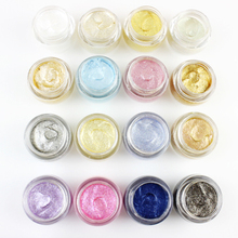 LEARNEVER 1 PC EyeShadow Flash Powder Makeup EyeShadow Shining Bright Glitter Powder Eye Shadow 16 Colors M02548