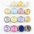 LEARNEVER 1 UNID Flash de Polvo de Maquillaje de Sombra de Ojos Sombra de Ojos Brillante Brillante Purpurina En Polvo Sombra de Ojos 16 Colores M02548