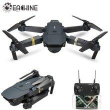 Eachine e58 wifi fpv com grande angular hd câmera alta modo de espera braço dobrável rc quadcopter rtf zangão
