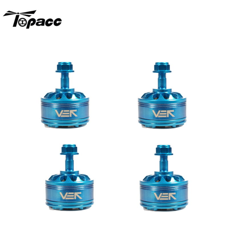 Original High Quality 4 PCS VEK Blue Edition CP2207 2207 2450KV 3-6S Brushless Motor for Racing Drone touchstone teacher s edition 4 with audio cd