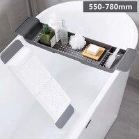 Home Sink Shelf Bathtub Storage Rack Bath Tray Shelf Drain Rack Bathroom Holder Kitchen Storage Suction Cup Kitchen Storage